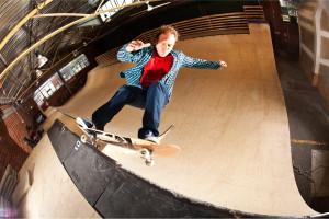 skater half pipe