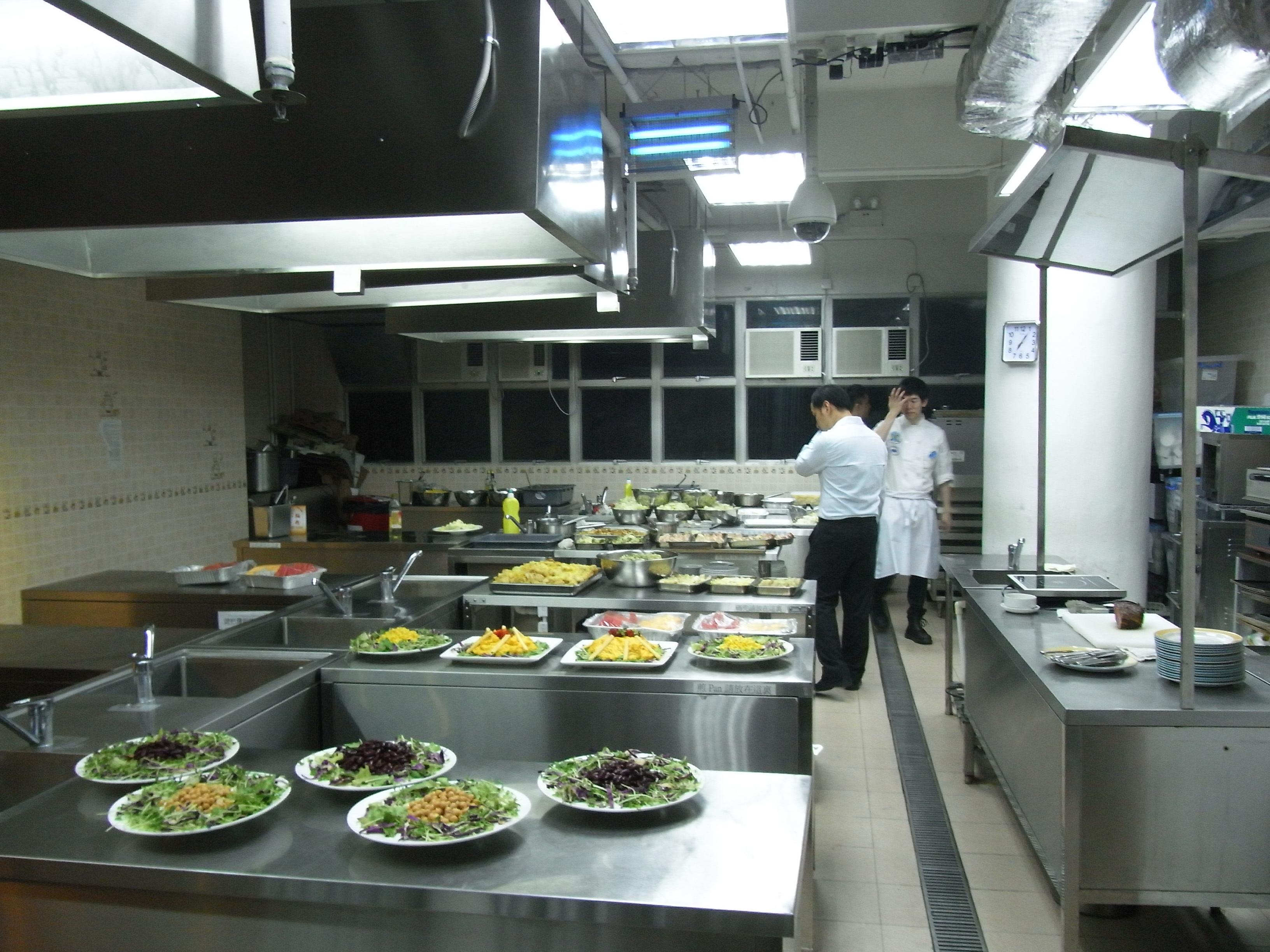 Distribuci n de una cocina industrial el comprador online for Plano de una cocina profesional
